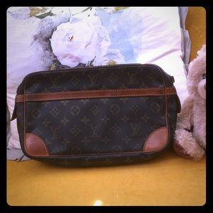 Authentic Louis Vuitton vintage cosmetic bag